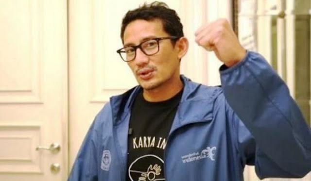 Menteri Kemenparekraf Salahudin Uno