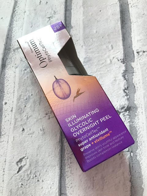 Superdrug Optimum Grape Overnight Peel