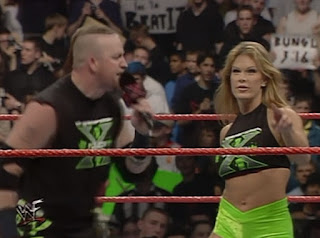 WWF Insurrexion 2000 - Tori accompanied Road Dogg to the ring