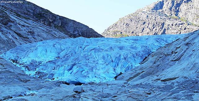 Randonnées glacier Nigardsbreen, parc national de Jostedal, Norvège