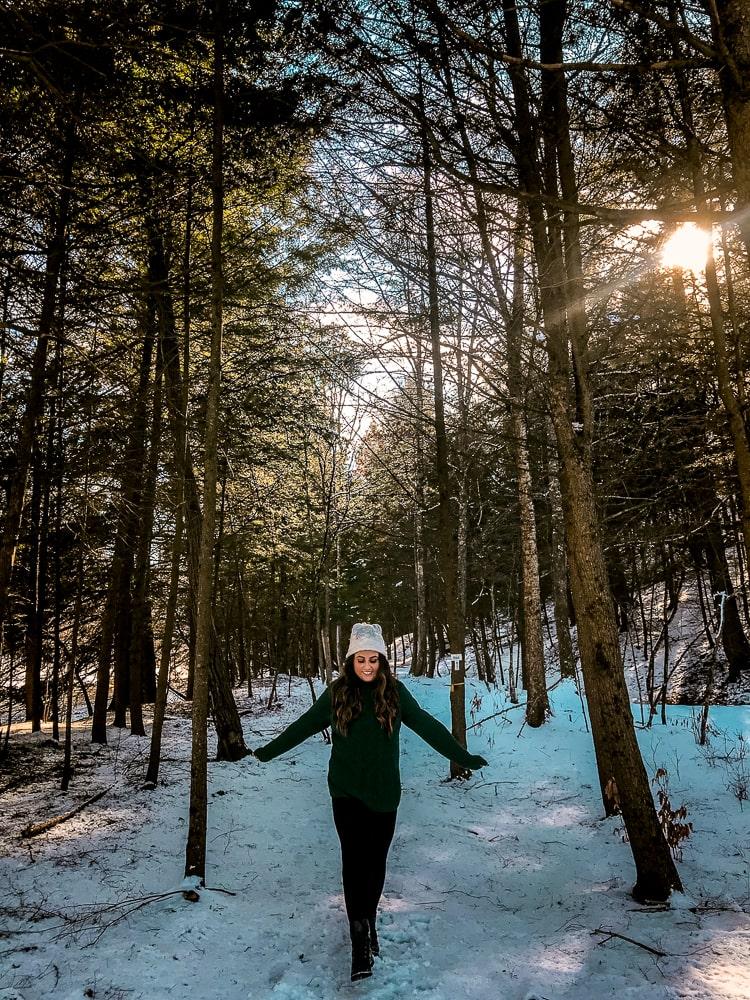 WanderlustBeautydreams, Catskills NY in Winter