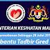 Baru Dibuka! Ratusan Jawatan Kosong Terkini di Kementerian Kesihatan Malaysia Ambilan Julai-Ogos 2018!