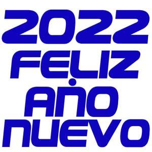 Feliz año nuevo 2022