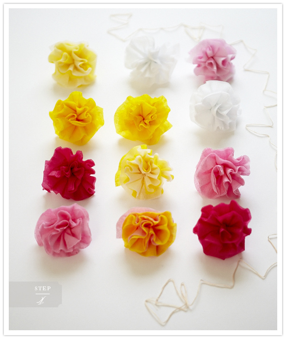 Craft Time Super Simple Diy Flower Garlands Hey Eep