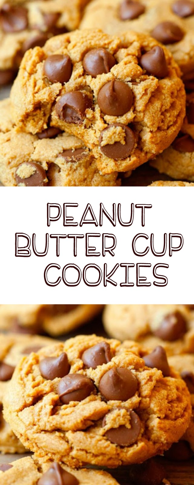 Peanut Butter Cup Cookies (GF)