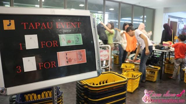 TaPauSub di Jalan Jalan Japan Skypark One City, Subang Jaya