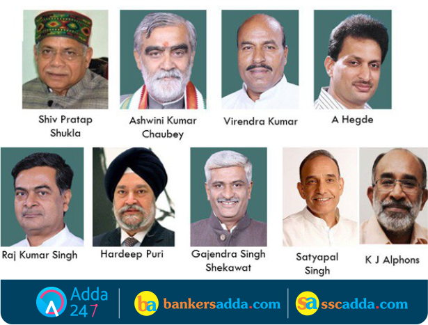 Portfolios Of The Council Ministers Narendra Modi Cabinet Reshuffled 9 New Faces As