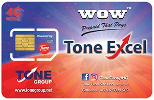 Simkad Simcard TuneTalk Tune Talk ToneExcel Tone Excel ToneExcel2u