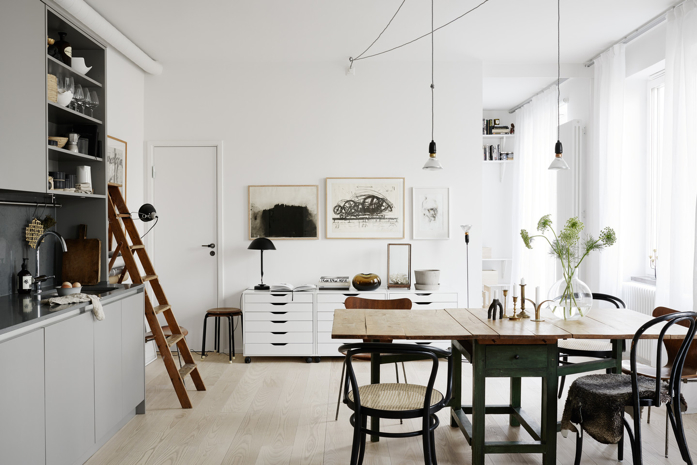 A light and bright kitchen-photography Kristofer Johnsson