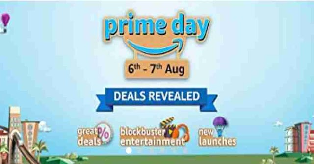 Amazon Sale - Amazon Prime Day Sale( 6th-7th August ) Offer During Happy Raksha Bandhan 2020