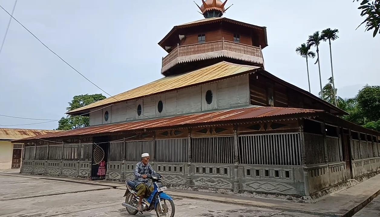 Masjid Tuha Pulo Kambing, Masjid Tertua di Aceh Selatan