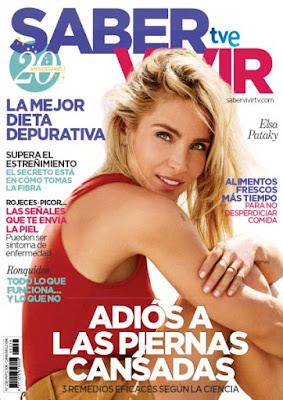 Revista Saber Vivir agosto 2020 noticias salud mujer y belleza