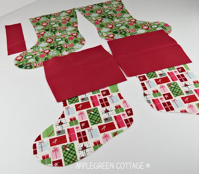 diy Christmas stocking