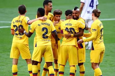 برشلونة ضد أوساسونا.. فاتي يجاور ميسي وسواريز فى التشكيل المتوقع