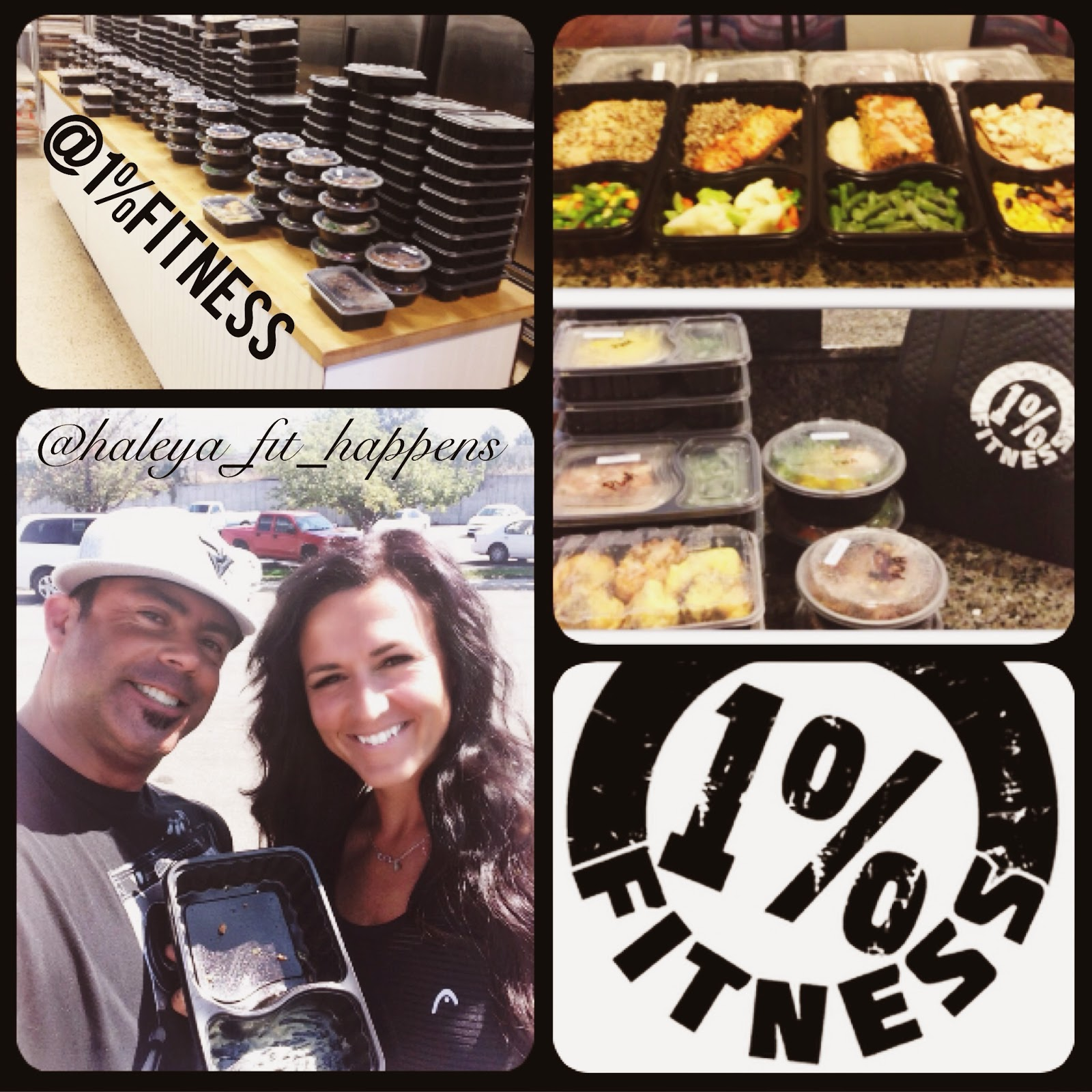 Fit Happens: @1%Fitness- Meal Prep Services