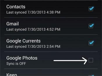 Photos Sync