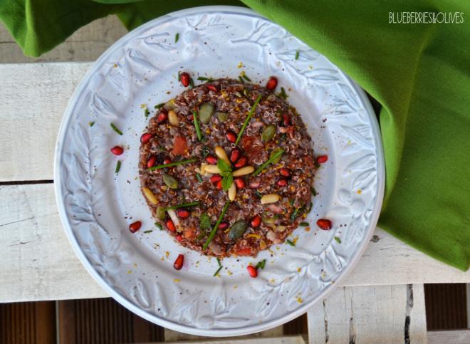 Tabulé de quinoa y granada 1