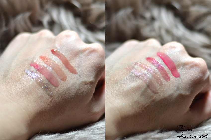 Catrice Infinite Shine Lip Gloss Swatches
