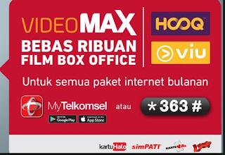 videomax telkomsel dalah