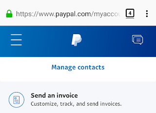 PayPal Invoice Request