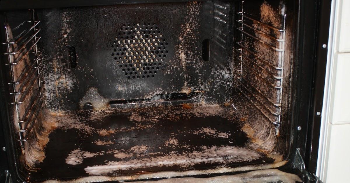 vaske stekeovn med bakepulver