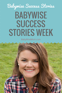 Babywise Success Stories Week 2017
