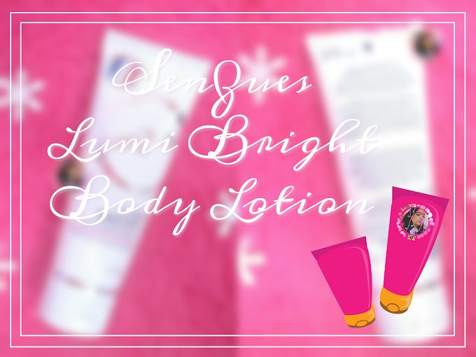 Review Senzues Lumi Bright Body Lotion