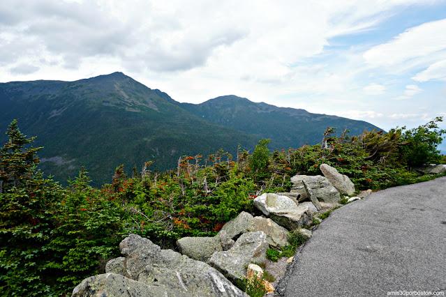 Carretera de Subida a la Cima de Mount Washington