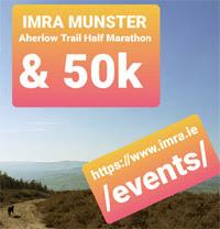 Glen of Aherlow Trail Half-Marathon & 50k - 18th Sept 2021