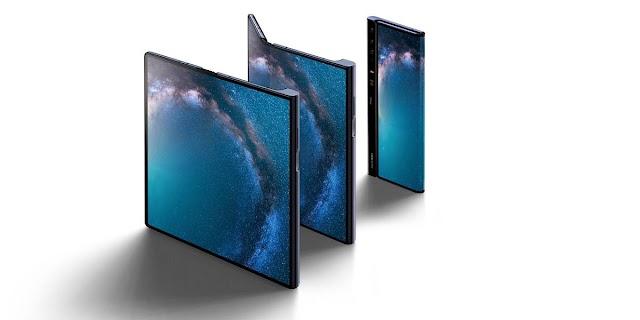 Huawei registra una nueva patente para otro smartphone flexible