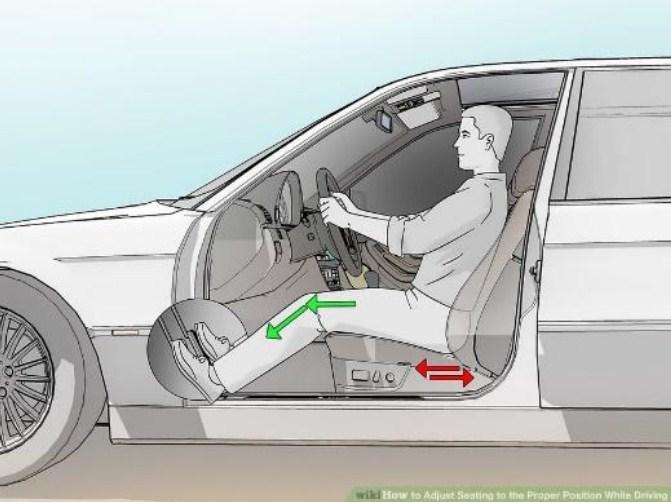 Hướng dẫn tư thế ngồi đúng khi lái xe ô tô giúp giảm mệt mỏi cho người lái