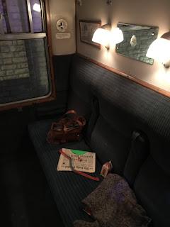 Hogwarts Express carriage, Harry Potter, Warner Bros Studio Tour, London
