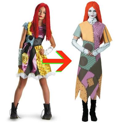 modest Sally costume