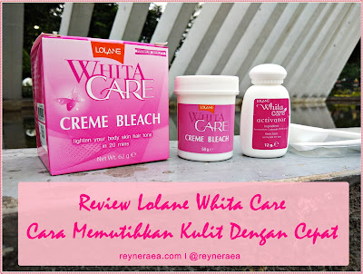 Lolane Whita Care Creme Bleach