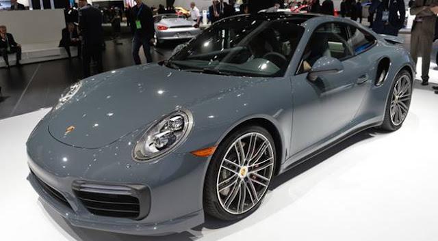 2017 Porsche 911 Engine