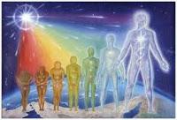 Je découvre avec stupeur, puis avec bonheur des êtres lumineux s'élever, impressionné, transforme mon regard par l'aspect physique des Anges.