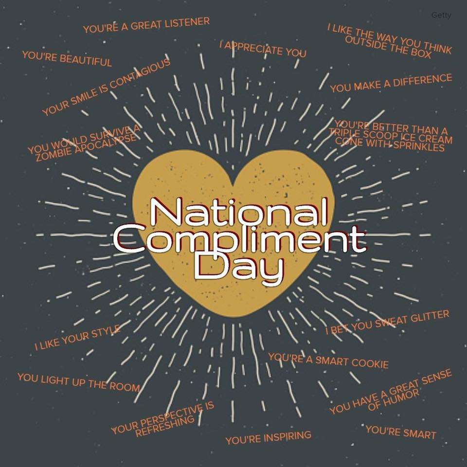 National Compliment Day Wishes Lovely Pics
