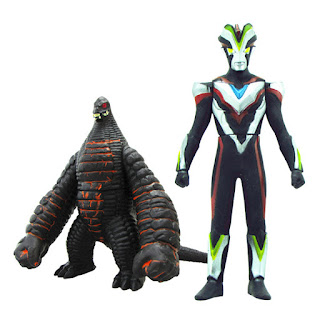 Ultraman Victory vs Redking Toys Figure