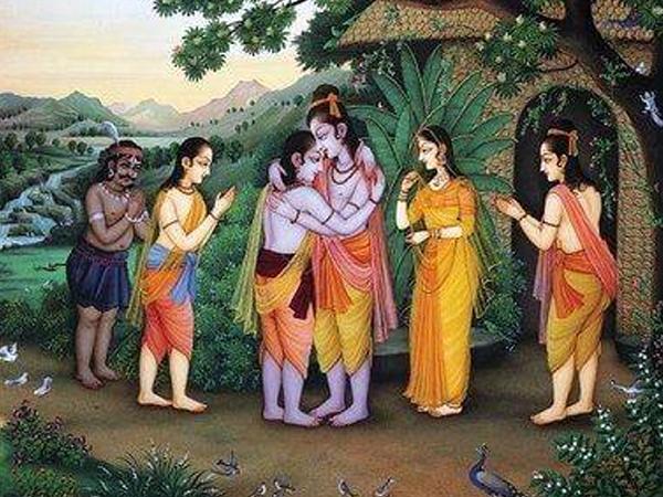 Ramayana Chapter 12 - Bharatha at Chitrakoot