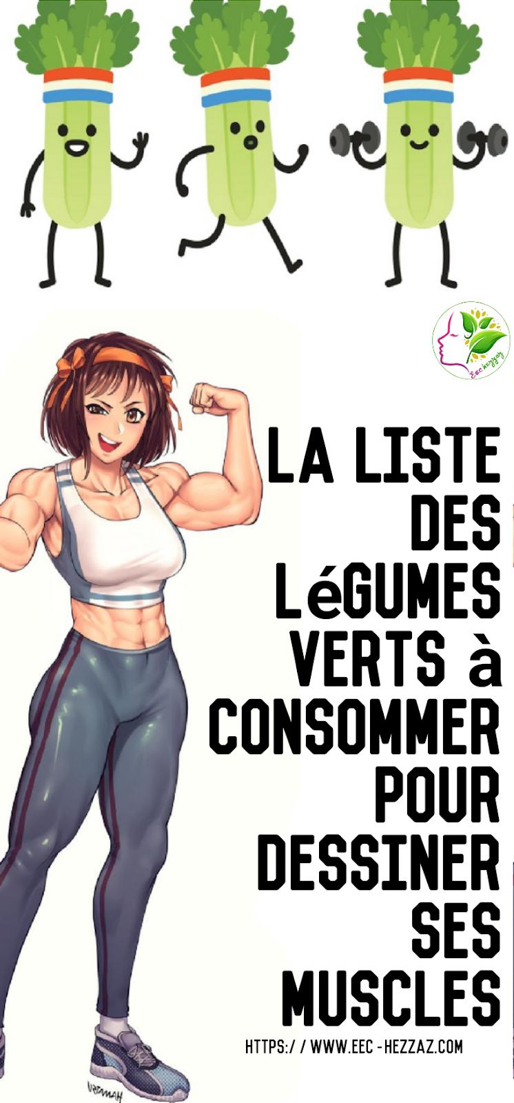 La liste des légumes verts à consommer pour dessiner ses muscles