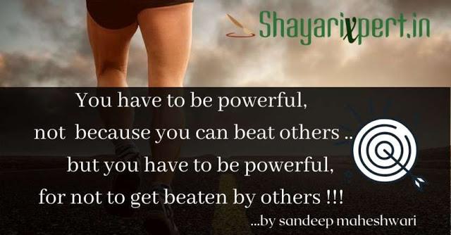 Top 15 Sandeep Maheshwari thoughts in English and Hindi