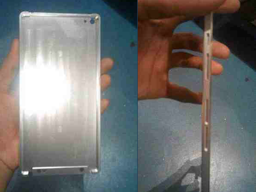 Huawei Ascend P8 Will Be Launched In March. Check Out Its Metal Chassis!