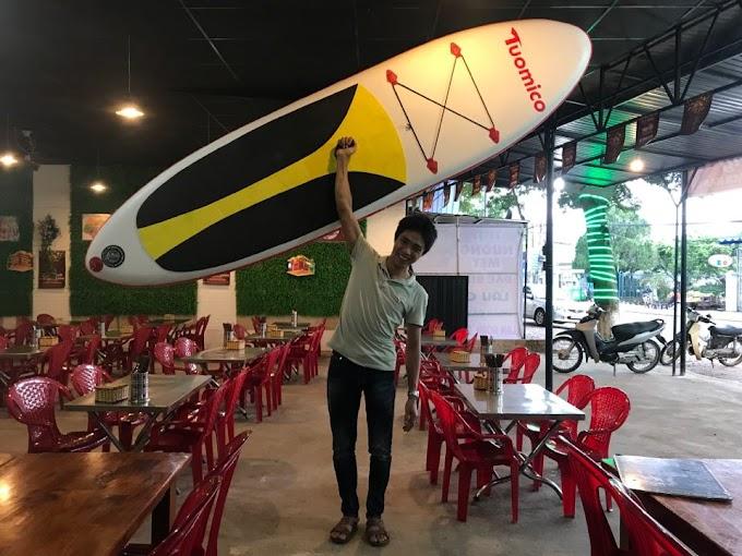 Cho thuê thuyền Sup tại Hồ Chí Minh