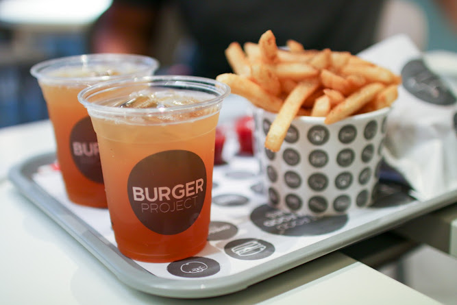 Burger Project Ice Tea