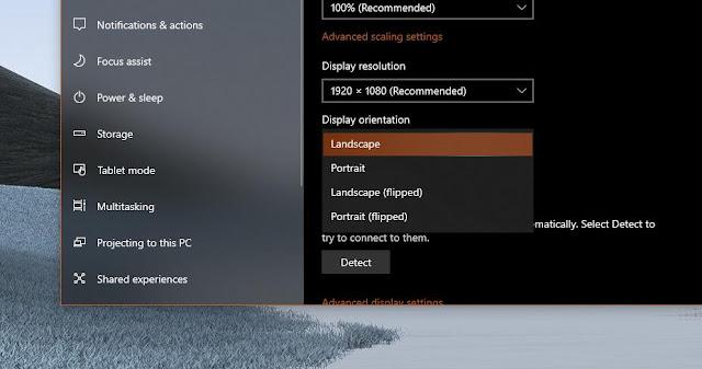 Cara Mudah Memutar Layar di Windows 10