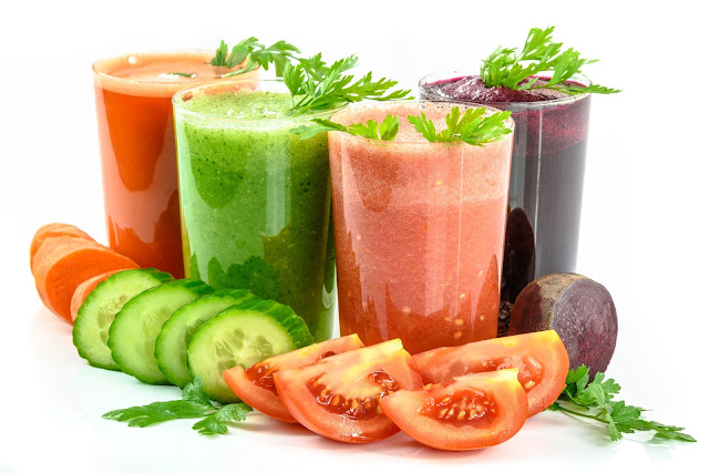 Jugo de verduras, ideal para desinflamar