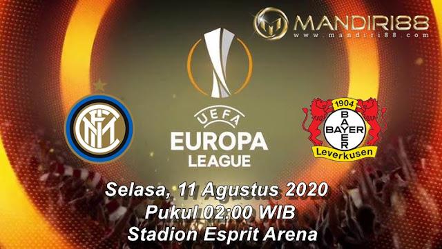 Prediksi Inter Milan Vs Bayer Leverkusen, Selasa 11 Agustus 2020 Pukul 02.00 WIB