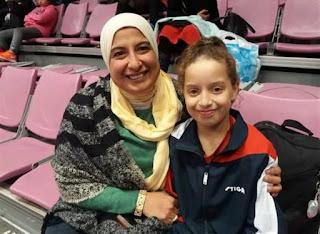 هنا جودة الحاصلة على الترتيب الأول في رياضة طاولة التنس تحت 15 سنة تتحدث عن سر نجاحها في عيد الأم