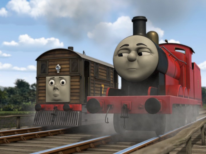 Thomas & Friends: Rescue On The Rails DVD Español Latino Screenshot