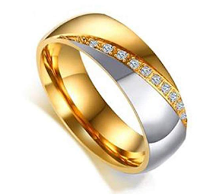 Gold Engagement Rings for Men and Women
